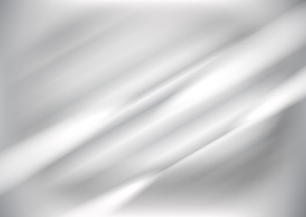 Silver texture background, Vector illustration Wall mural