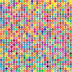 Colorful dots, circles abstract pattern background. Vector illustration.