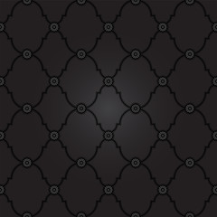 Black fancy background pattern.  Classy texture in vector format