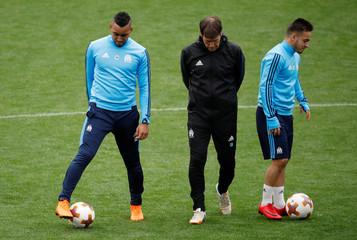 Europa League Final - Olympique de Marseille Training