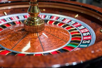 Casino, roulette close up