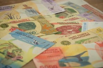 Madagascar money / Ariary