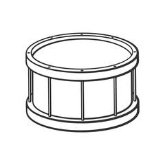 Doodle of classic drum