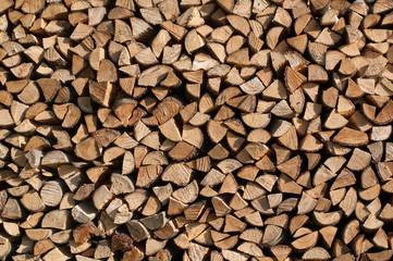 Firewood background.
