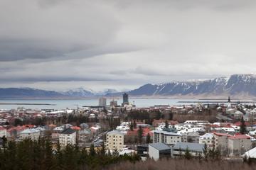 Beautiful nature surrounds Reykjavik
