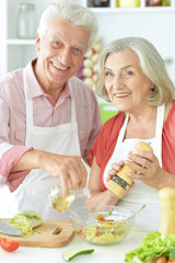 parents preparing to eat