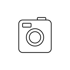 camera icon. Element of web icon for mobile concept and web apps