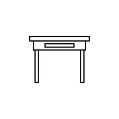 desk icon. Element of web icon for mobile concept and web apps.