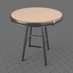Stool with four legs