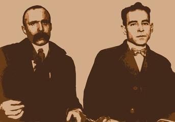 Sacco et Vanzetti - portrait - personnage célèbre - peine de mort - chaise électrique - justice