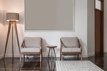 Modern luxury lobby interior