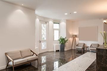 Fototapeta Modern luxury lobby interior obraz
