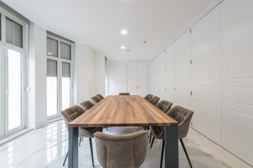 Conference office room interior