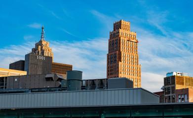 Downtown Detroit. Piece #2