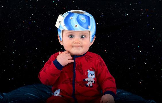 jolie bébé astronaute