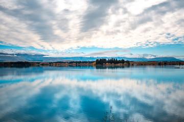 New Zealand south Island Landscape