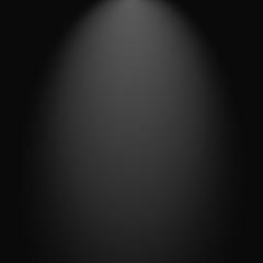 Fondo negro con degradado estilo luz de reflector