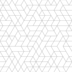 Seamless background for your designs. Modern light ornament. Geometric abstract pattern