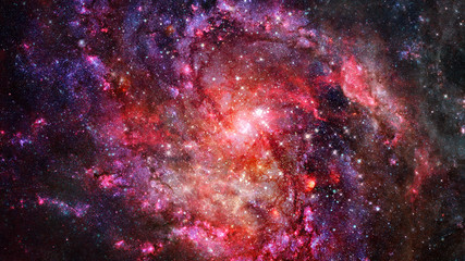 Starry outer space. Elements of this image furnished by NASA.