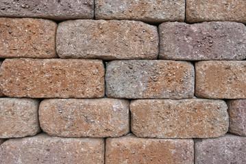 Adobe brick wall