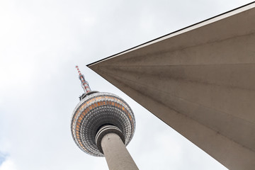 Berliner Fernsehturm am Alexanderplatz