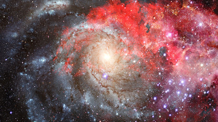 Abstract scientific background. Elements of this image furnished by NASA