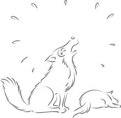 fox crying