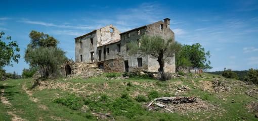 Vergessenes Haus in Kroatien