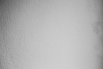 White texture background. Light grey old painted whitewash wall with scratches.