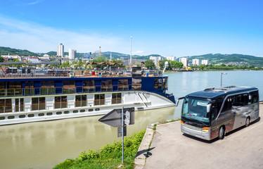 Linz Stadt an der Donau in Oberösterreich