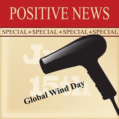 Positive news - World Wind Day