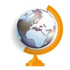 globe - terre - monde - environnement - planète -écologie - climat - énergie renouvelable