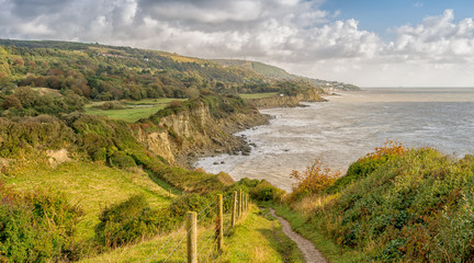 Sir Richard's Cove, St. Lawrence, Ventnor, Isle of Wight, England