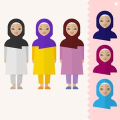 Muslim girl.