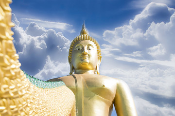 great buddha of thailand statue