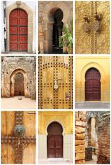 Arabic oriental styled doors