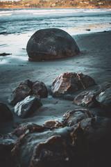 Moeraki Boulders close up images