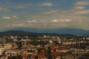 Ljubljana street Slovenian