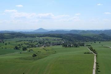 Weifberg bei Hinterhermsdorf und Umgebung