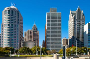 Downtown Detroit Architecture