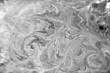 Marble abstract acrylic background. Nature black marbling artwork texture.