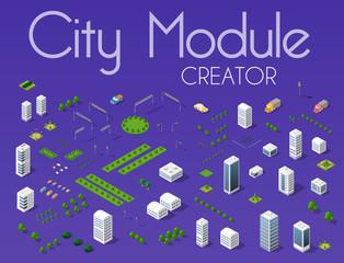 Canvas Prints Violet City module creator