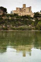 Castellet Castle view