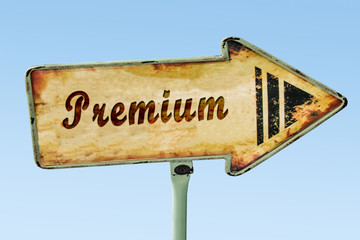 Schild 328 - Premium
