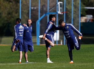 Football Soccer - Argentina's national soccer team training - World Cup 2018