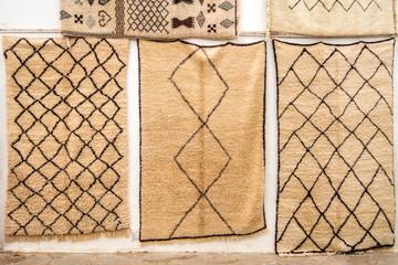 Mohair wool carpets