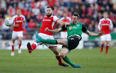League One Play Off Semi Final Second Leg - Rotherham United vs Scunthorpe United