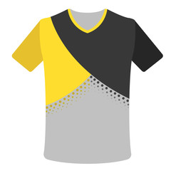 Isolated sport shirt icon