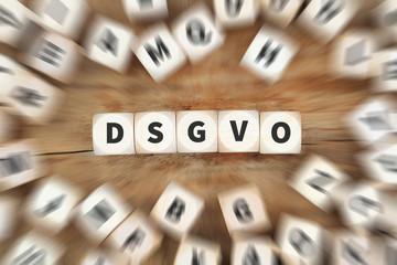 DSGVO Datenschutz Grundverordnung Verordnung Regel EU Europäische Union Internet Würfel