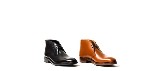 brown and black mens shoes